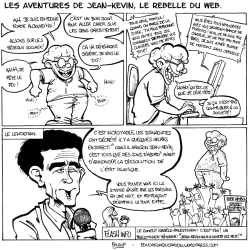 Le rebelle du net