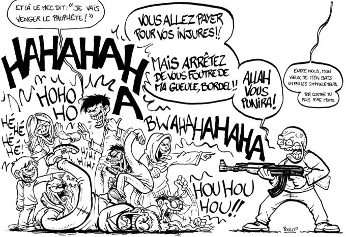 défi liberté dessin rire LD