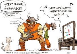 Trois mots, un gribouillis : Rock - Viking - Jeux video
