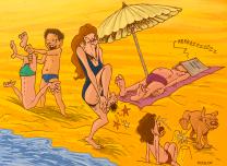 La plage du bonheur