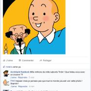 Tintin au pays des selfies