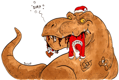 Le T-rex de Noël