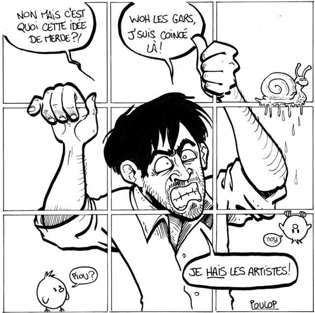 art vs artist LD