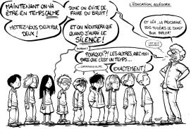 Education, allégorie
