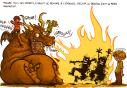 Hector le dragon fait de l'animation