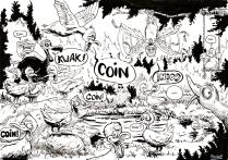 Inktober 2016, jour 6 - Thème : Dodo caché