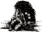 Inktober 2016, jour 4 - Thème :Post-it + Affamé
