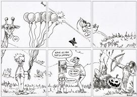 Le gribouillis casé