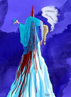 La Reine refroidie