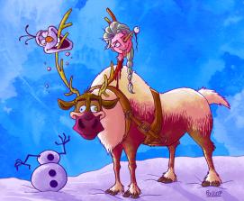 Elsa empallée