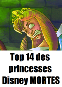 Princesses Disney mortes